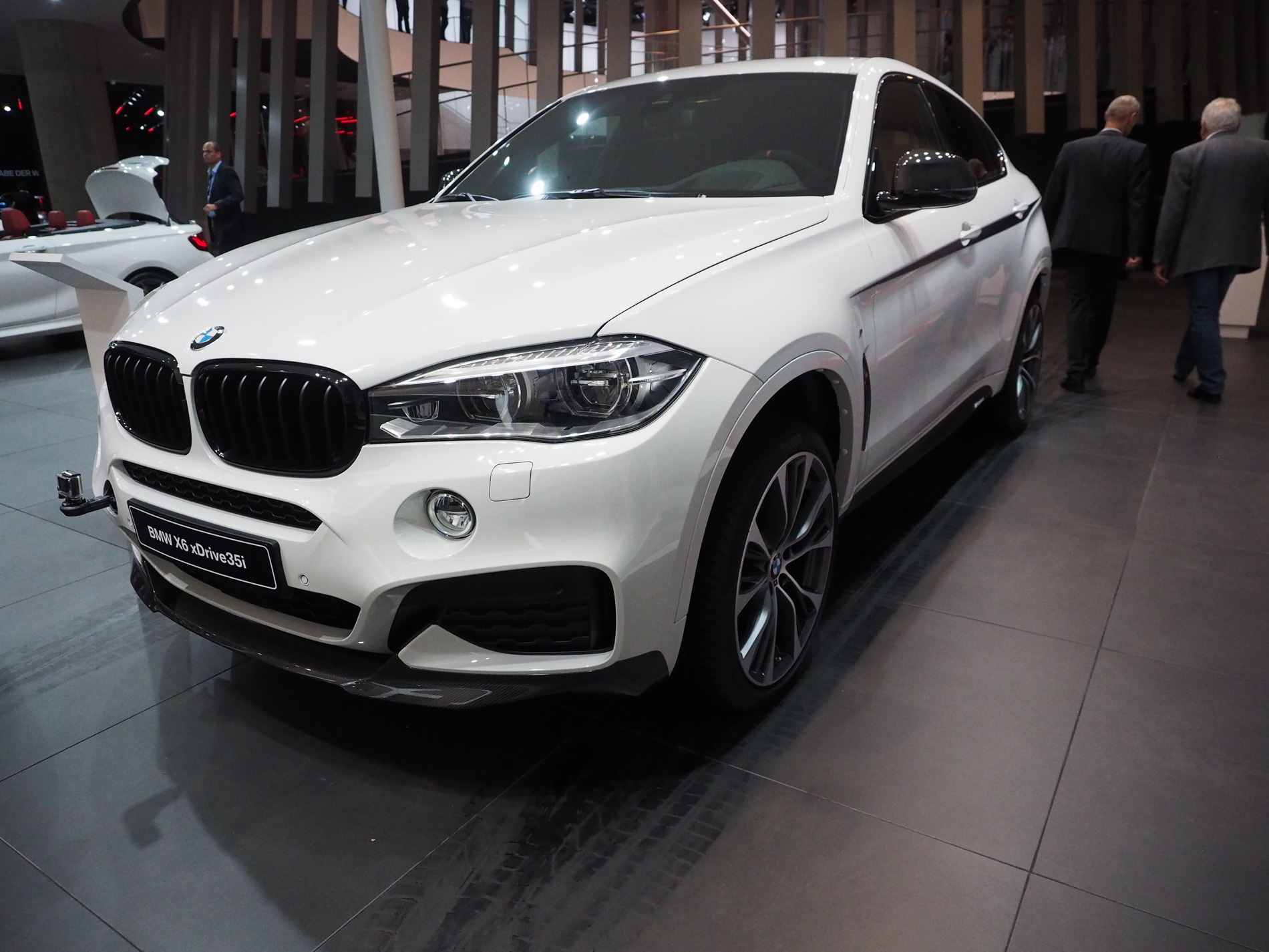 Bmw X6 M Performance Parts At 2015 Frankfurt Auto Show