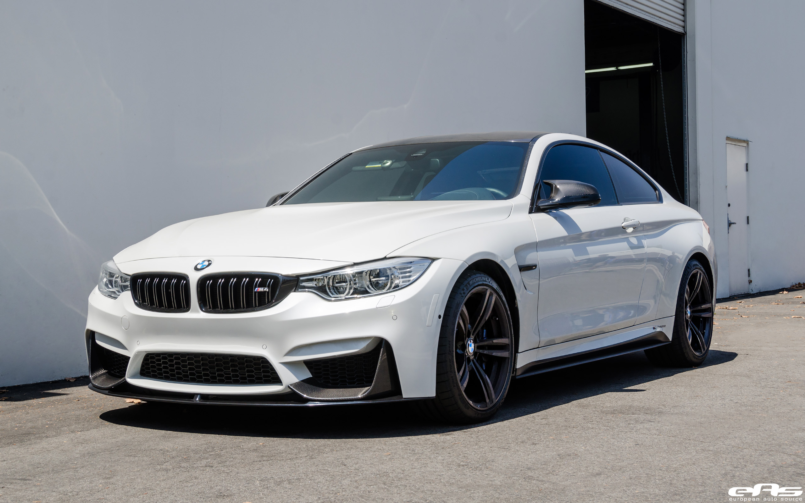 European Auto Source Mineral White Bmw M4 Build
