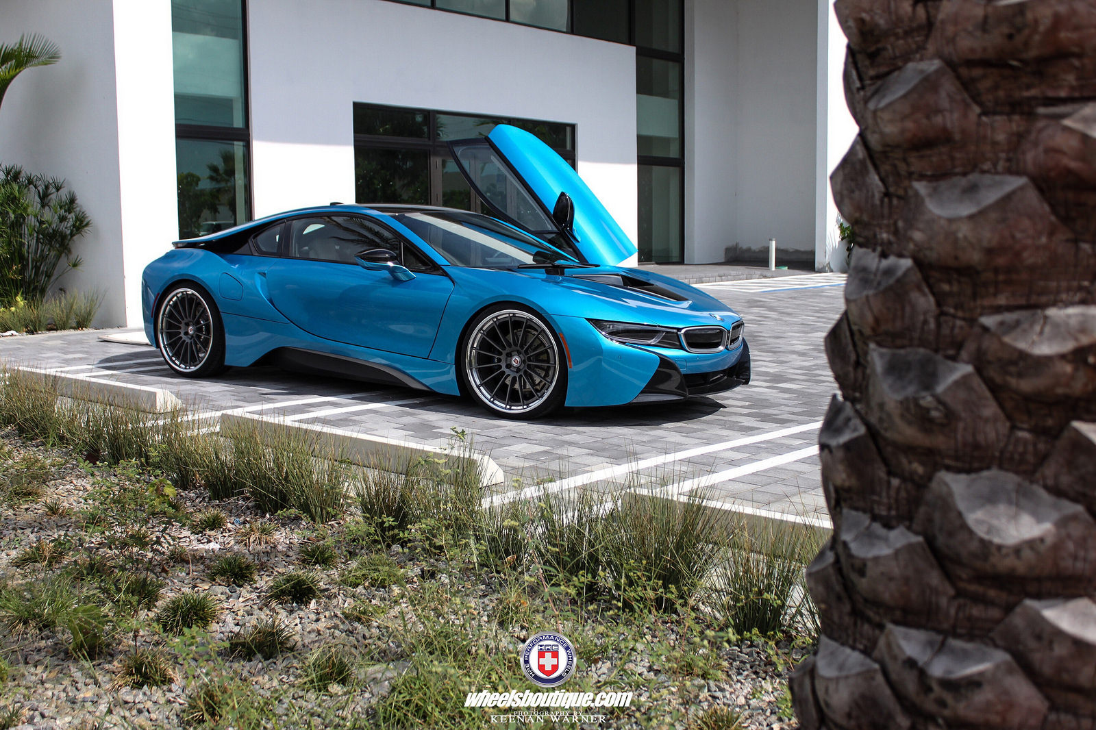 Photoshoot A Bmw I8 Equipped With Hre Rs103 Wheels