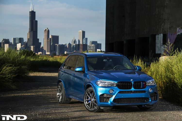 A Clean IND Long Beach Blue Metallic BMW X5 M Project 7 750x500