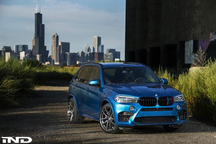 A Clean IND Long Beach Blue Metallic BMW X5 M Project 7