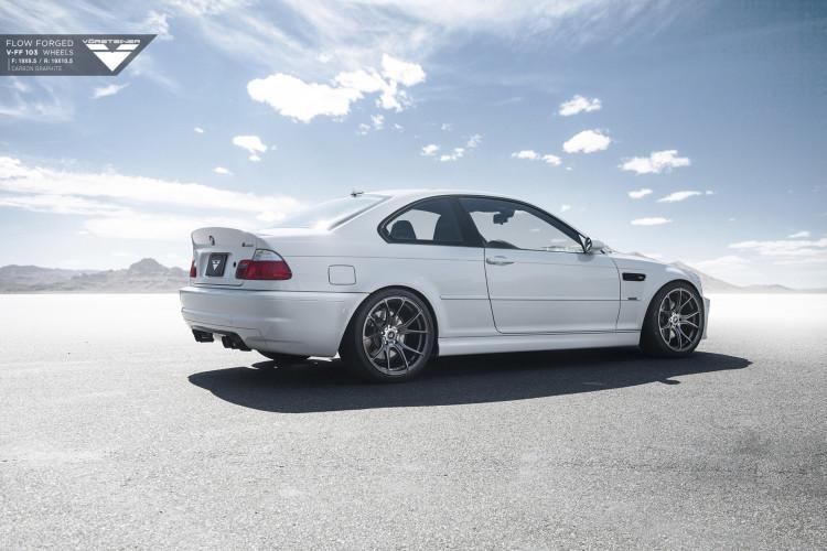 Alpine White BMW E46 M3 Updated With Vorsteiner Wheels 2 750x500