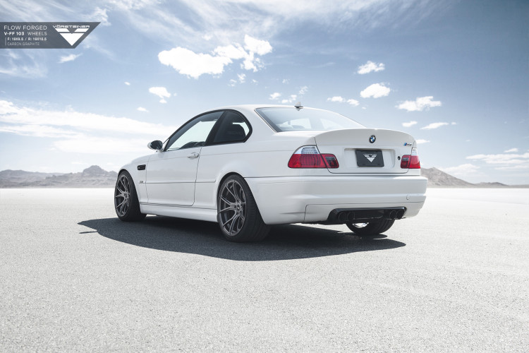 Alpine White BMW E46 M3 Updated With Vorsteiner Wheels 3 750x500