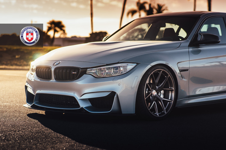 BMW M3 F80 with HRE P101 in Brushed Dark Clear 2 750x500