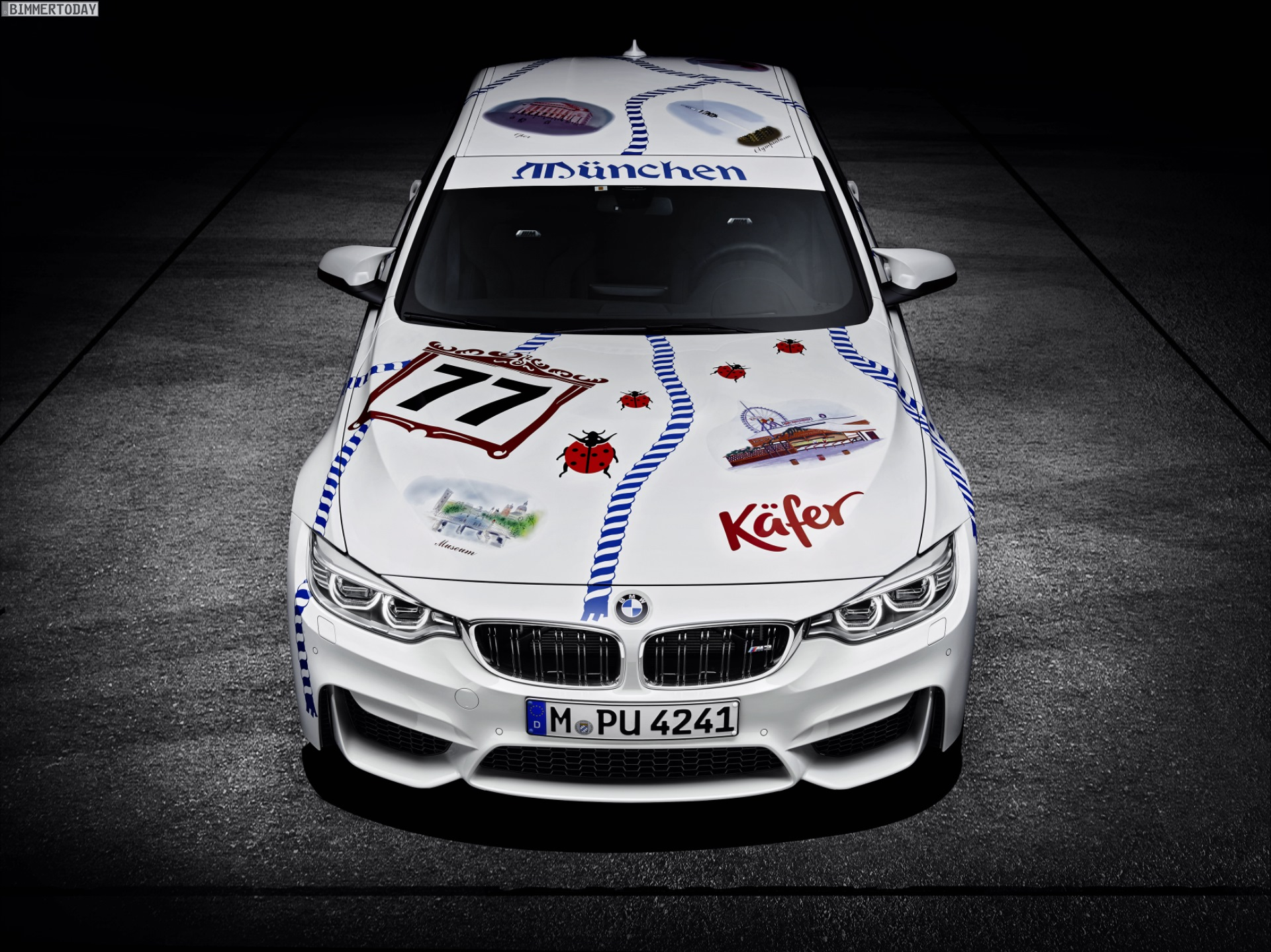 BMW M3 Muenchner Wirte