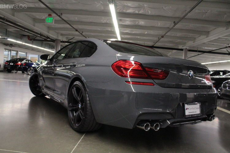 BMW M6 Gran Coupe in Grigio Telesto images 04 750x500