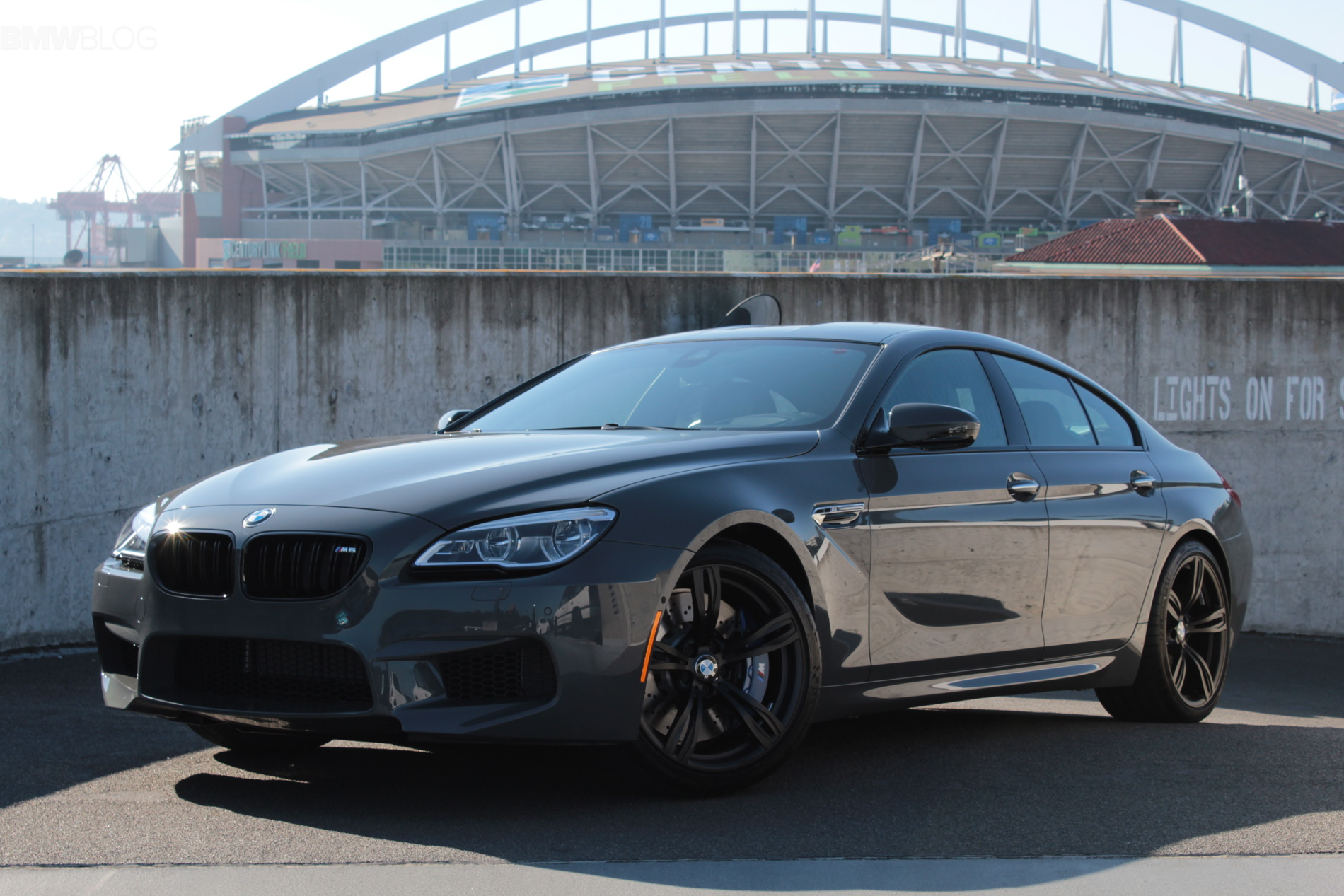 One Of A Kind Bmw M6 Gran Coupe In Grigio Telesto Color