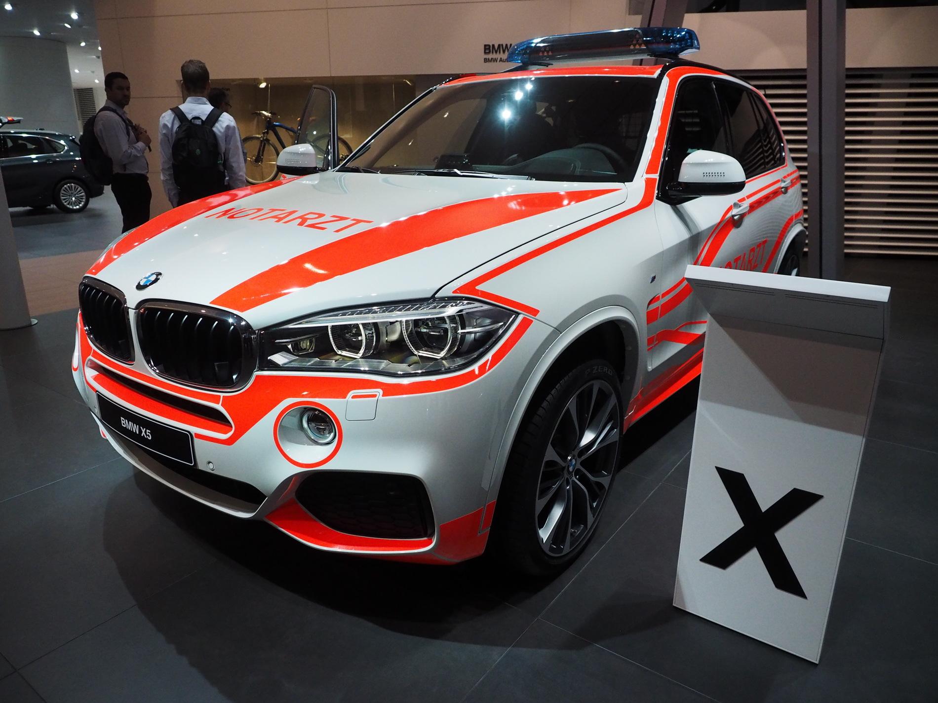 BMW X3 Emergency Vehicle images 01