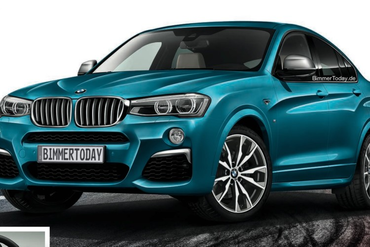 BMW X4 M40i 2015 Leak 01 750x500
