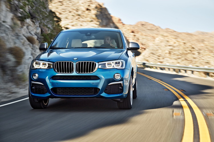 BMW X4 M40i official images 1900x1200 01 750x500