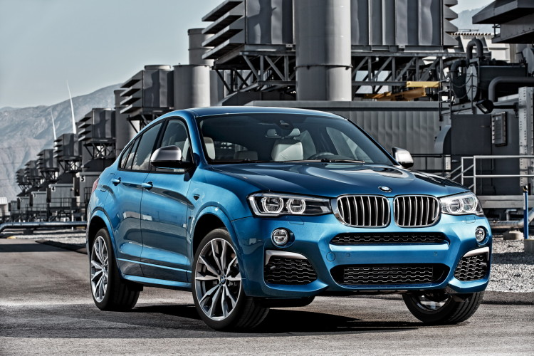 BMW X4 M40i official images 1900x1200 41 750x500