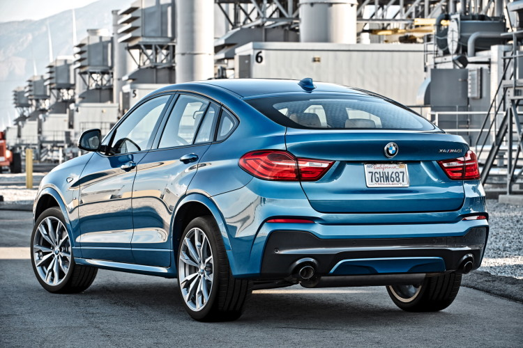 BMW X4 M40i official images 1900x1200 44 750x500
