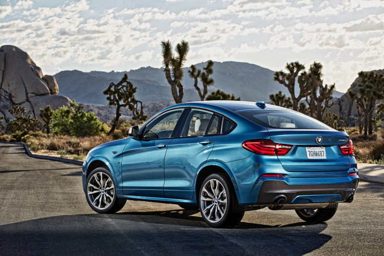 BMW X4 M40i official images 1900x1200 55 750x500