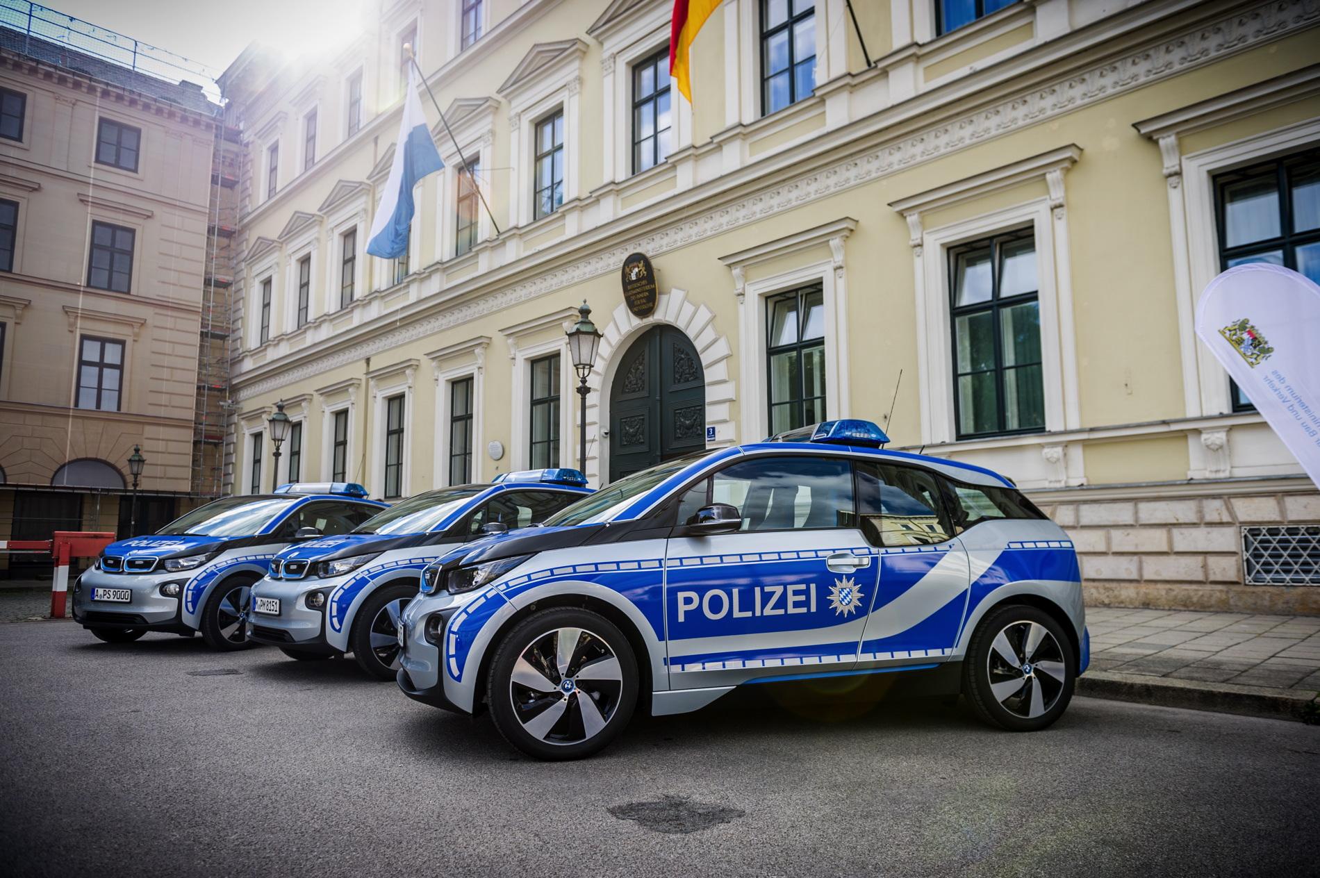 Munich Police Fleets Gets Bmw I3 Cars