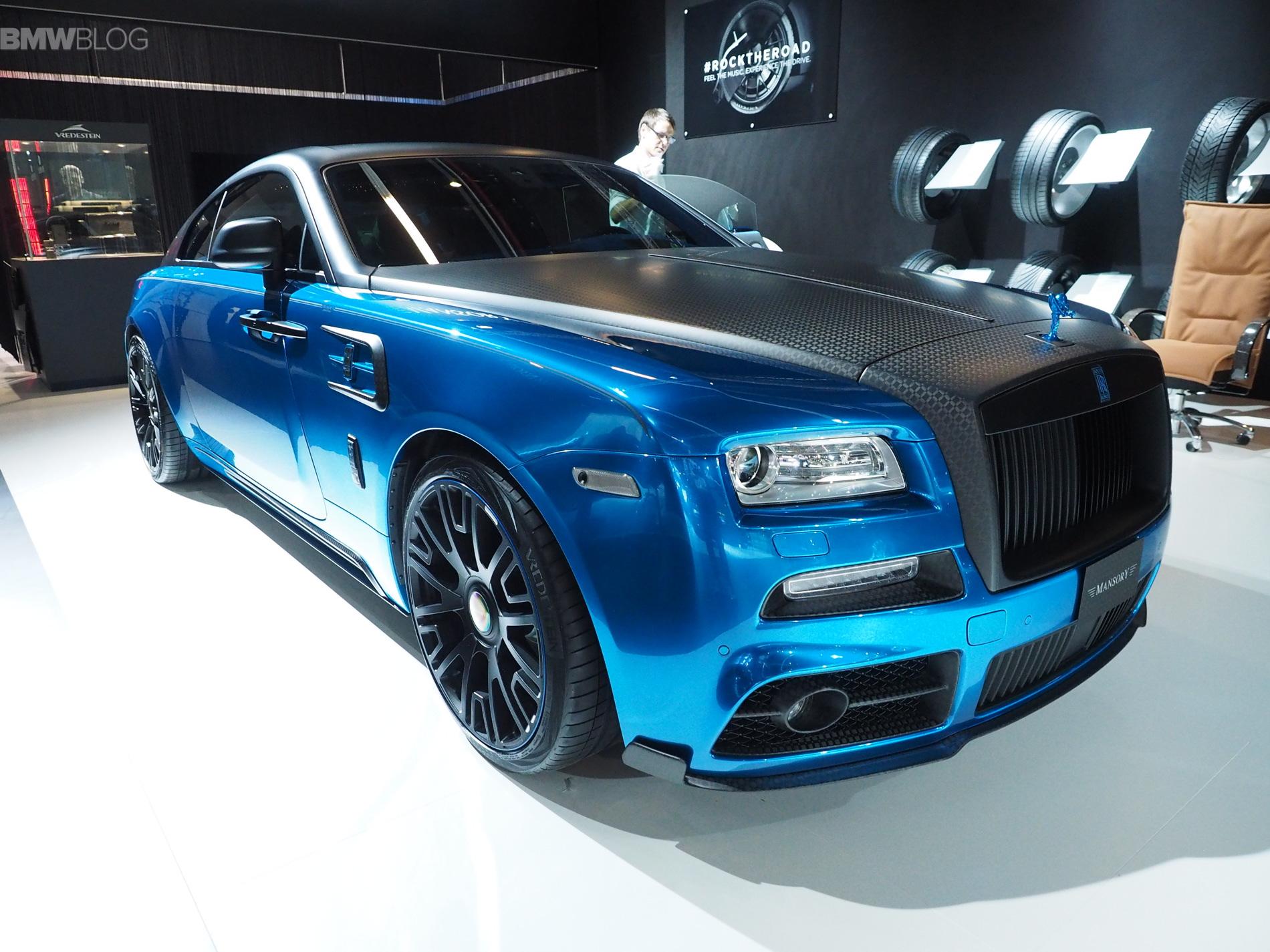 Mansory Rolls Royce Frankfurt images 01