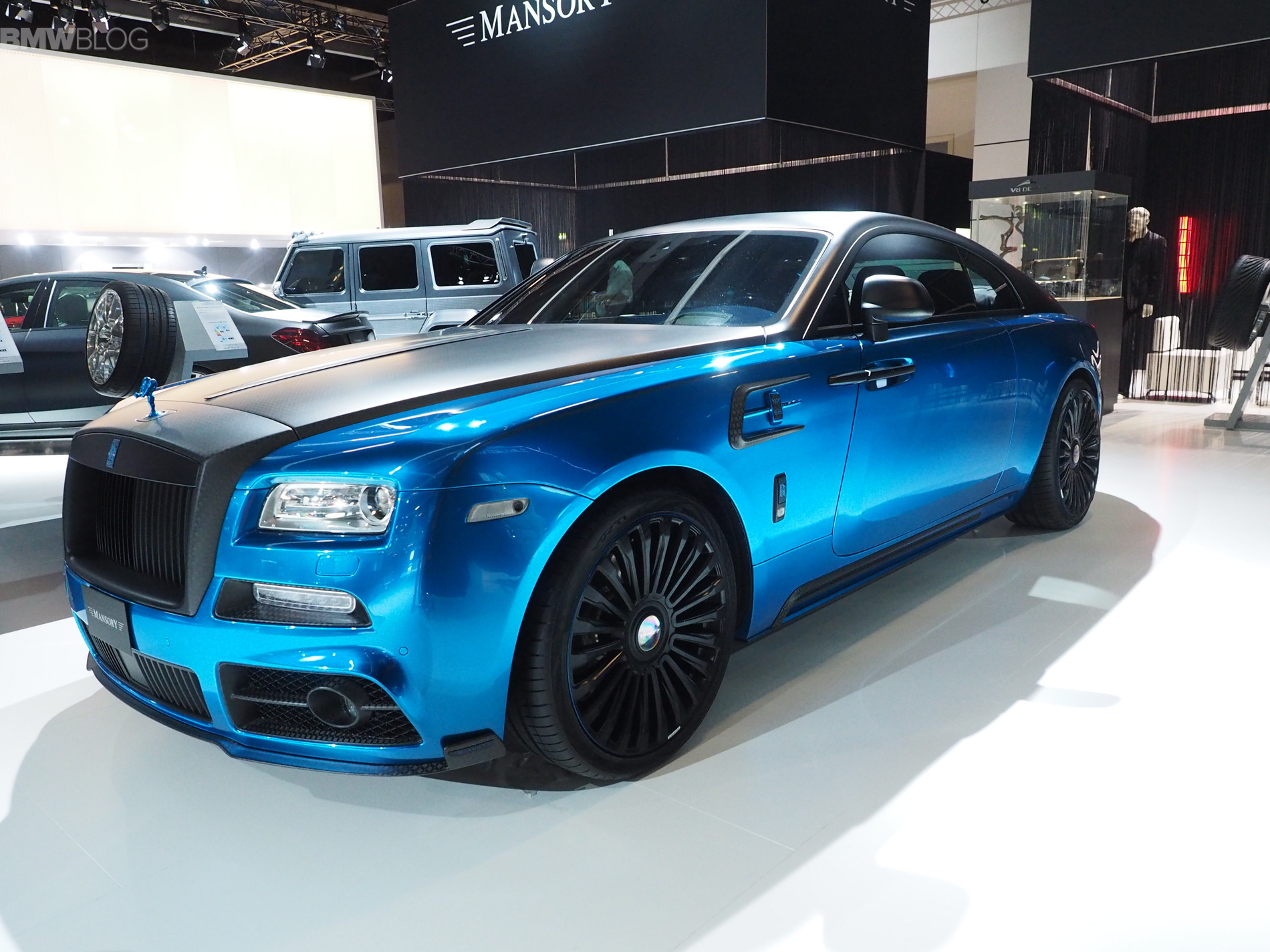 Mansory Brings A Custom Painted Rolls Royce And A Carbon Fiber Lamborghini To Frankfurt