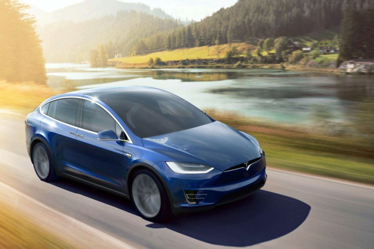 Model Tesla X images 750x500