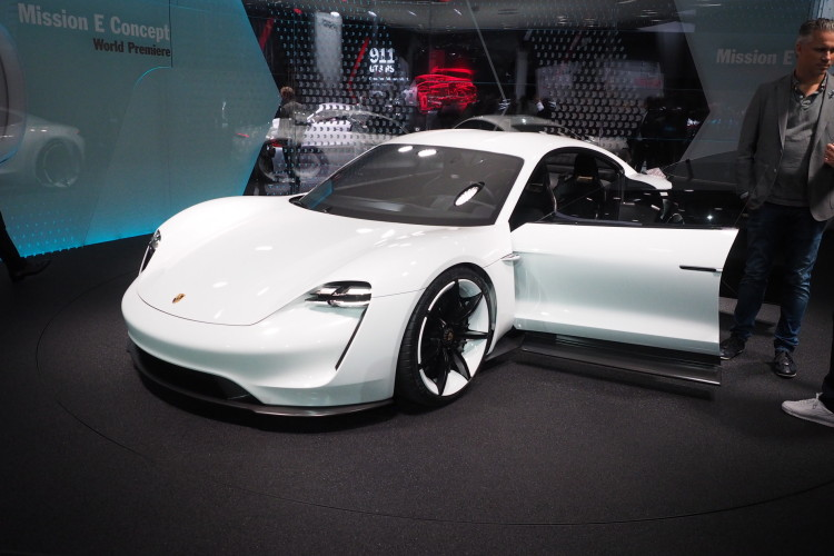 Video Mark Webber Drives The Porsche Mission E