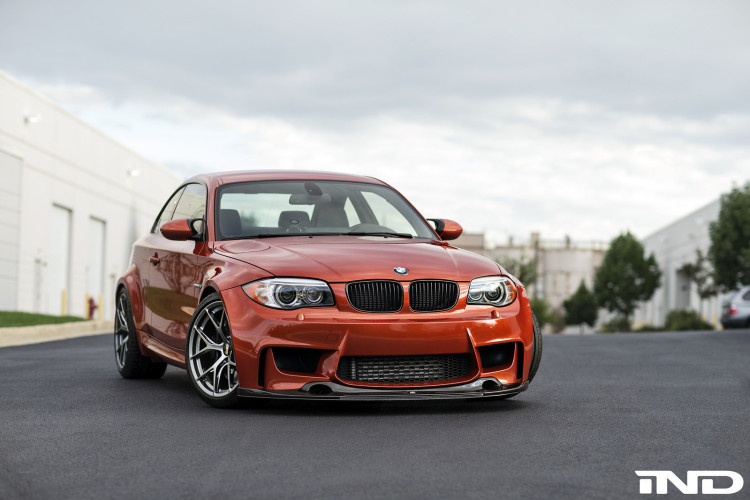 Valencia Orange BMW 1M On BBS FI R Wheels 1 750x500