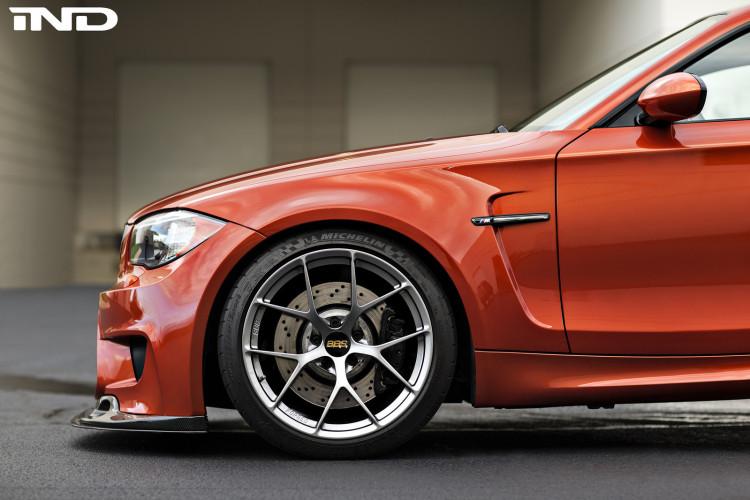 Valencia Orange BMW 1M On BBS FI R Wheels 2 750x500