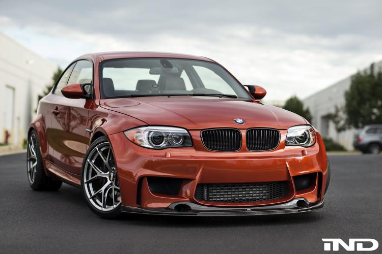 Valencia Orange BMW 1M On BBS FI R Wheels 3 750x500