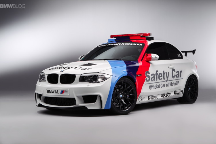 bmw 1m safety car akrapovic images 18 750x500