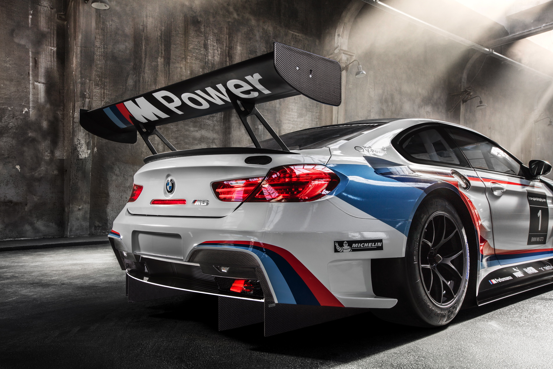 Bmw M6 Gtlm With Bmw Team Rll To Compete In The Imsa