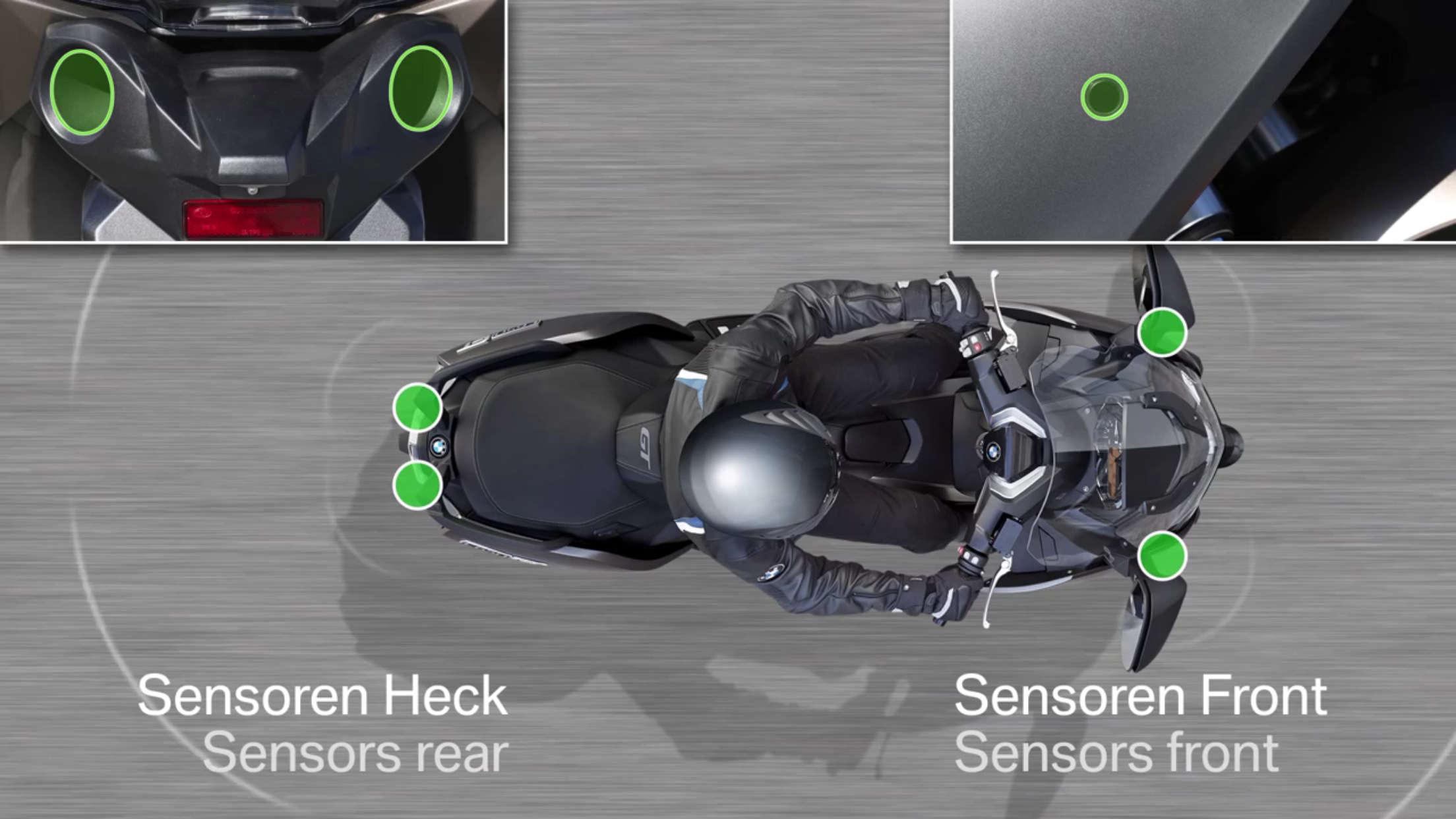 bmw side view assist
