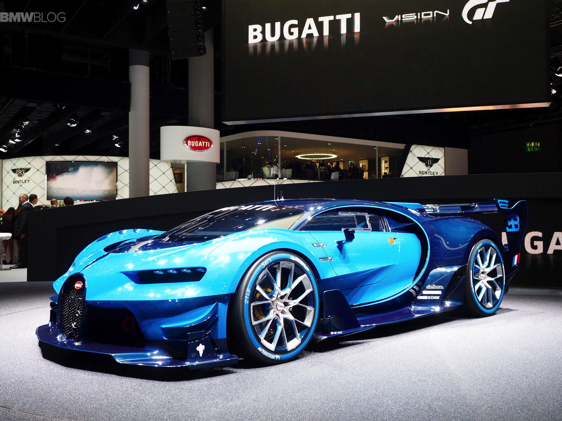 This Is The Bugatti Vision Gran Turismo With 250mph Top Speed