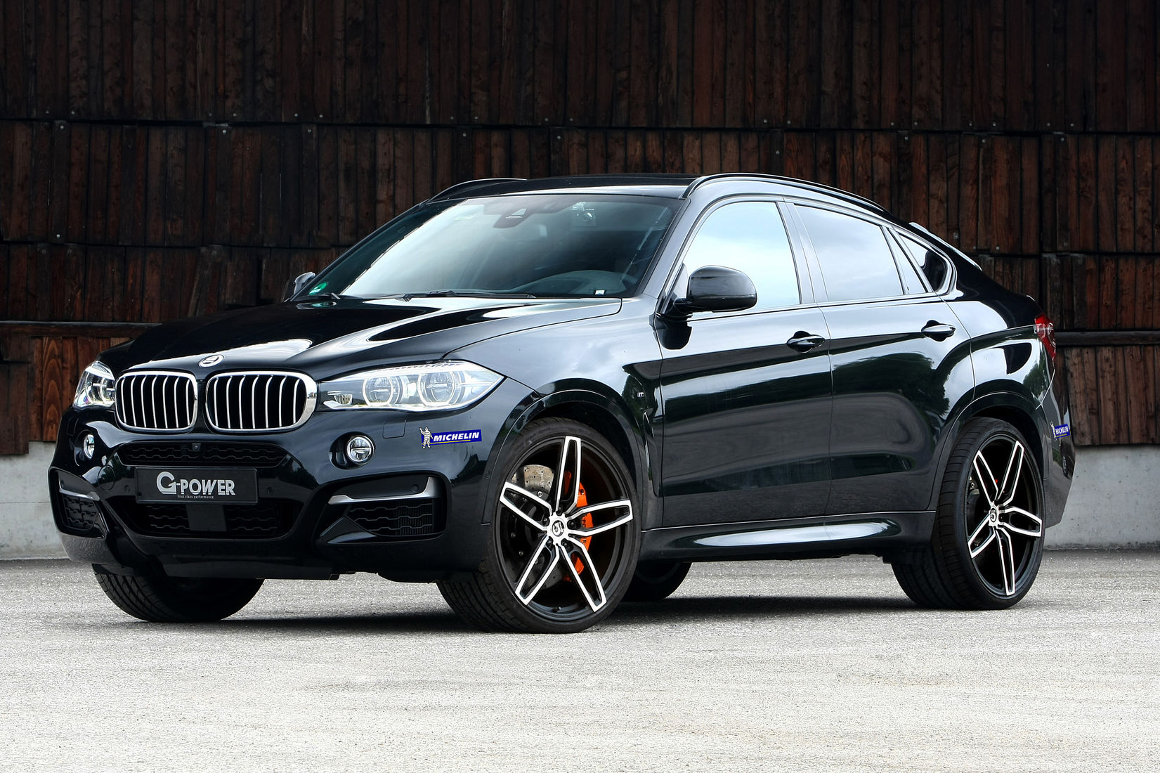 Bmw X6 M50d By G Power
