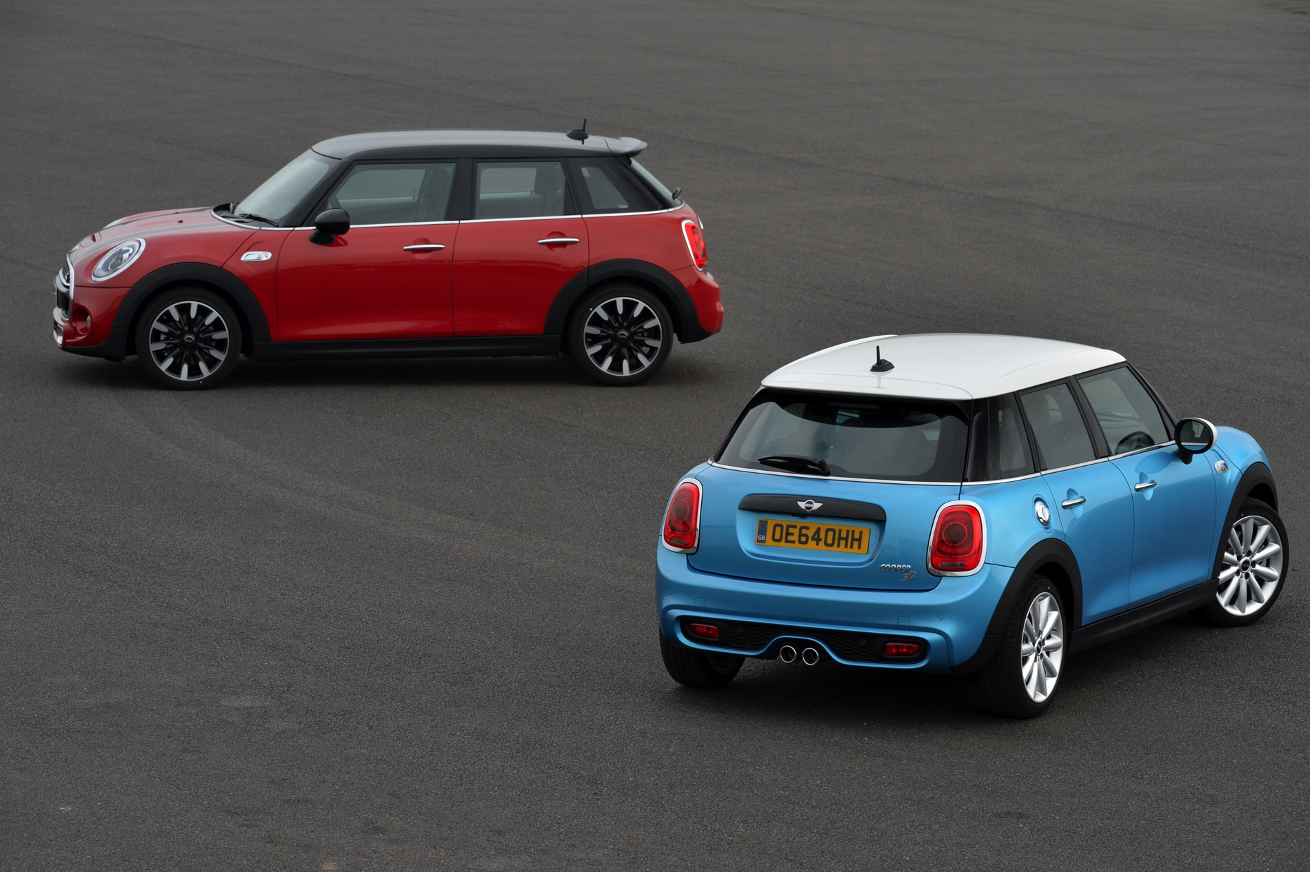 MINI Clubman F54: One, One D And Cooper SD At 2015