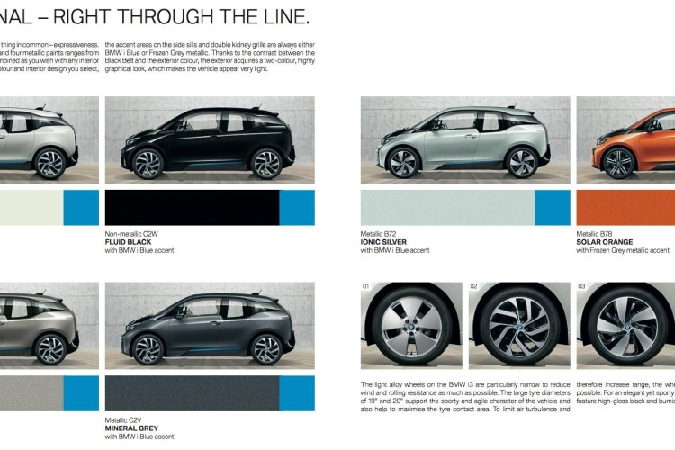 new bmw i3 colors 750x500