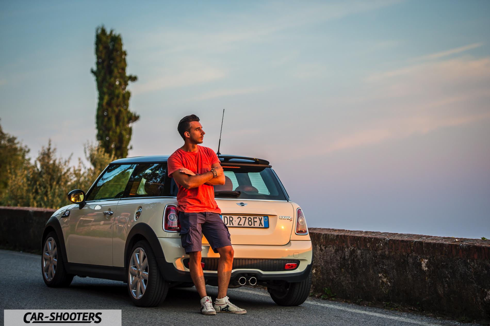 Mini Cooper S Photoshoot In Italy