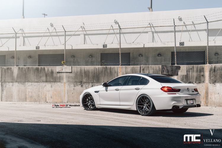 Clean BMW M6 With Vellano Wheels