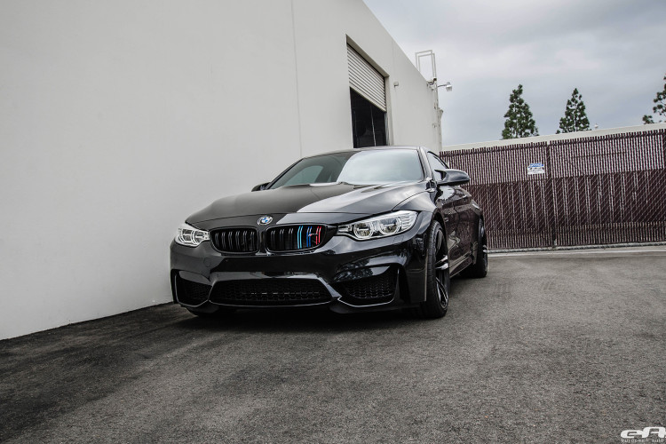 Aggressive Looking Blacked Out BMW M4 Image 1 750x500