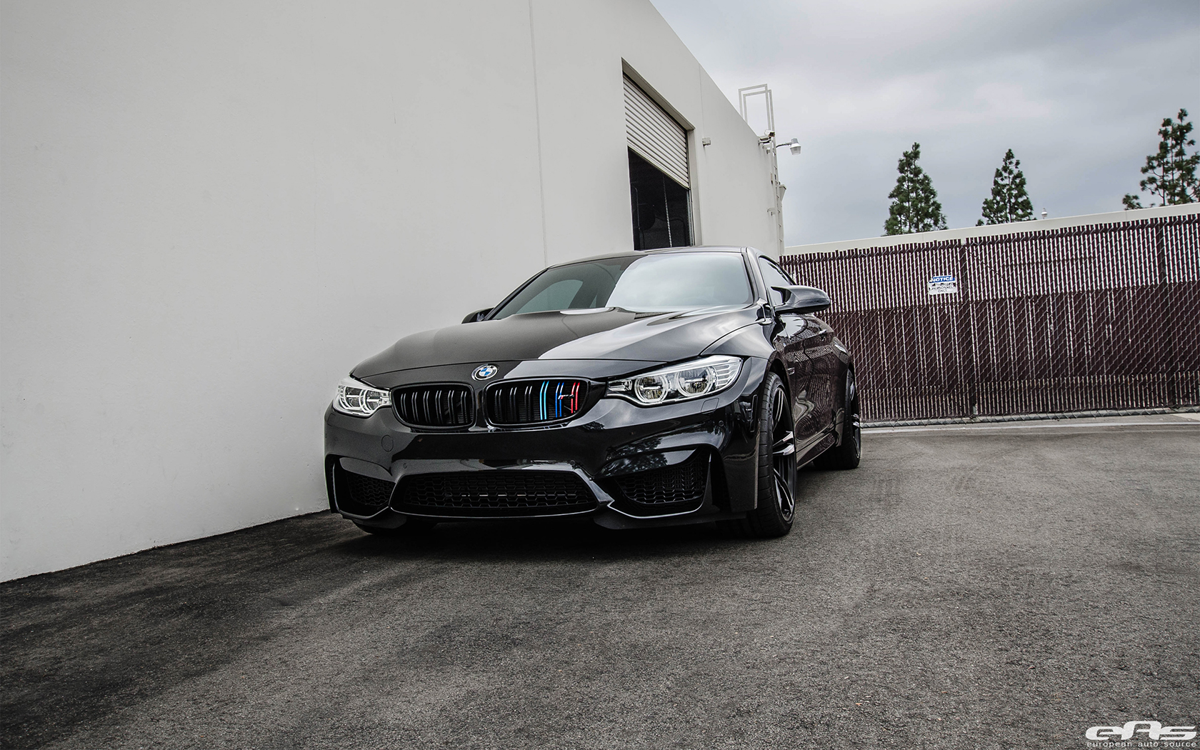 Blacked Out Bmw M4 Looks Mean