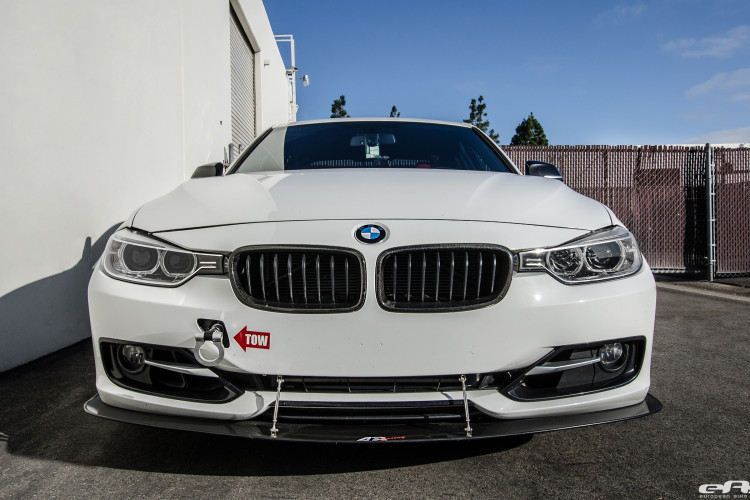 Alpine White Bmw F30 Gets An Interesting Aero Package
