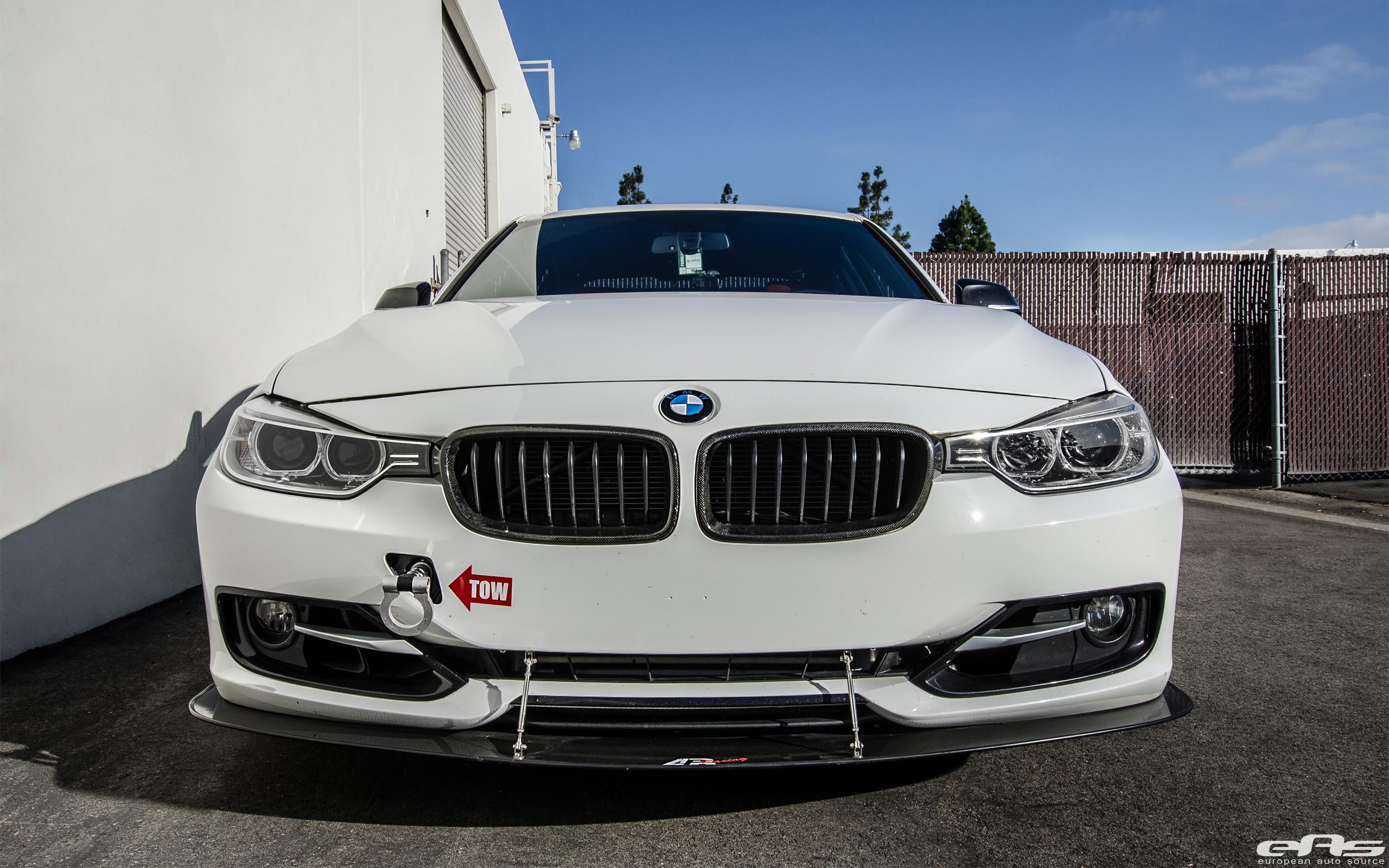 Alpine White BMW F30 Gets An Interesting Aero Package 3
