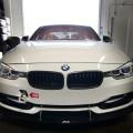 Alpine White BMW F30 Gets An Interesting Aero Package