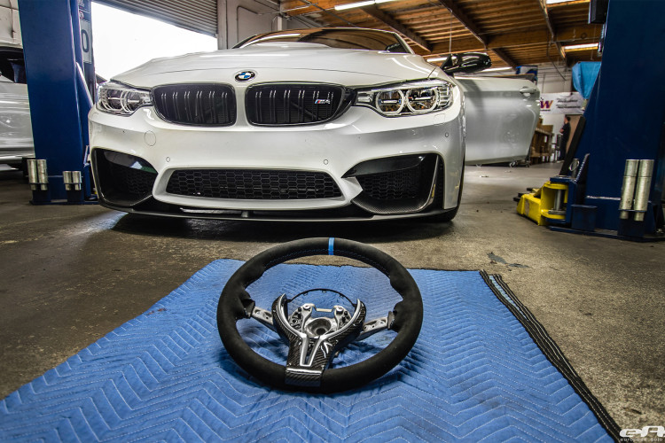 Alpine White BMW M4 Gets Modded At European Auto Source 1 750x500
