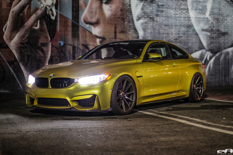 Austin Yellow BMW F82 M4 By EAS 4 750x500