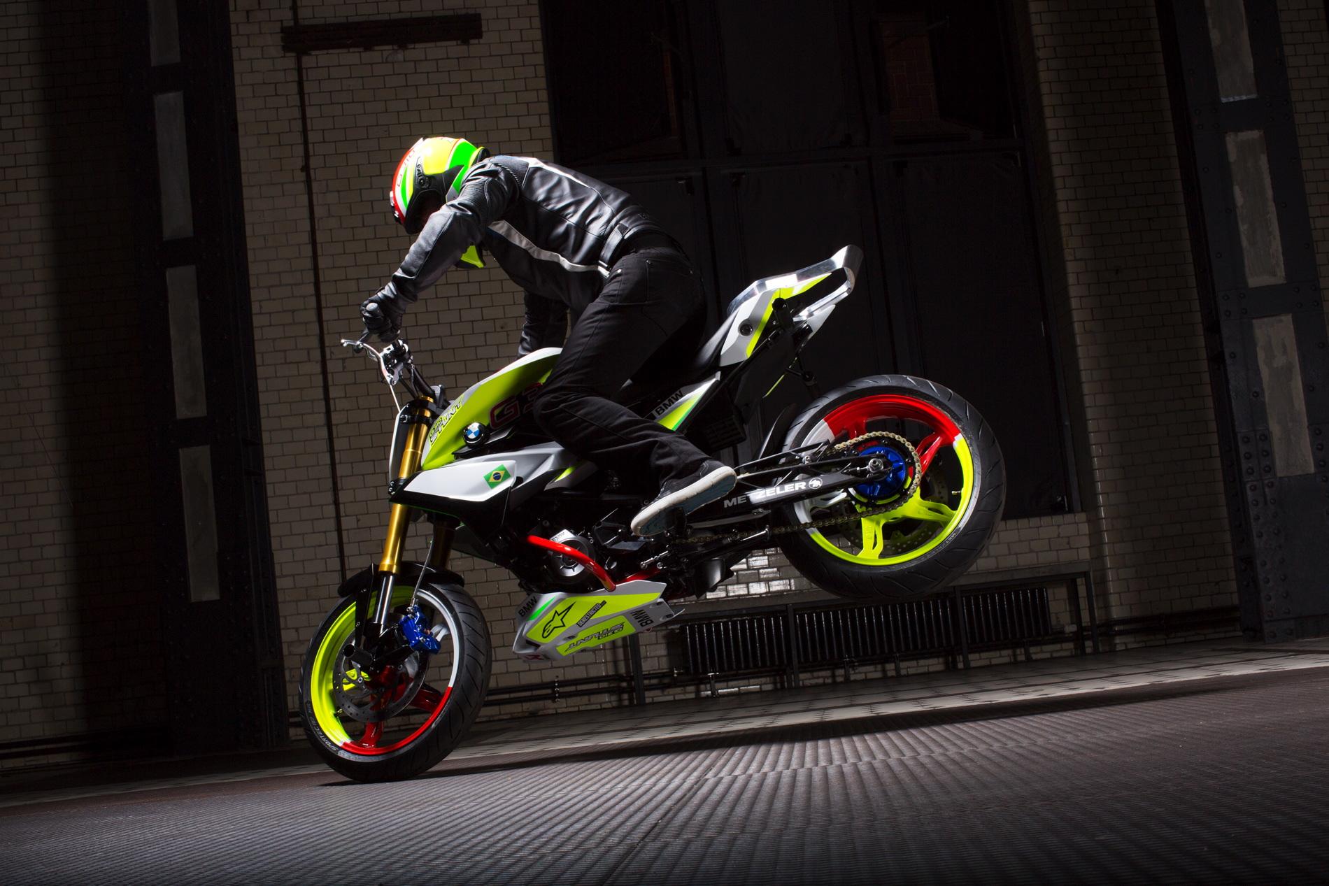 Bmw Motorrad Unveils Concept Stunt G 310