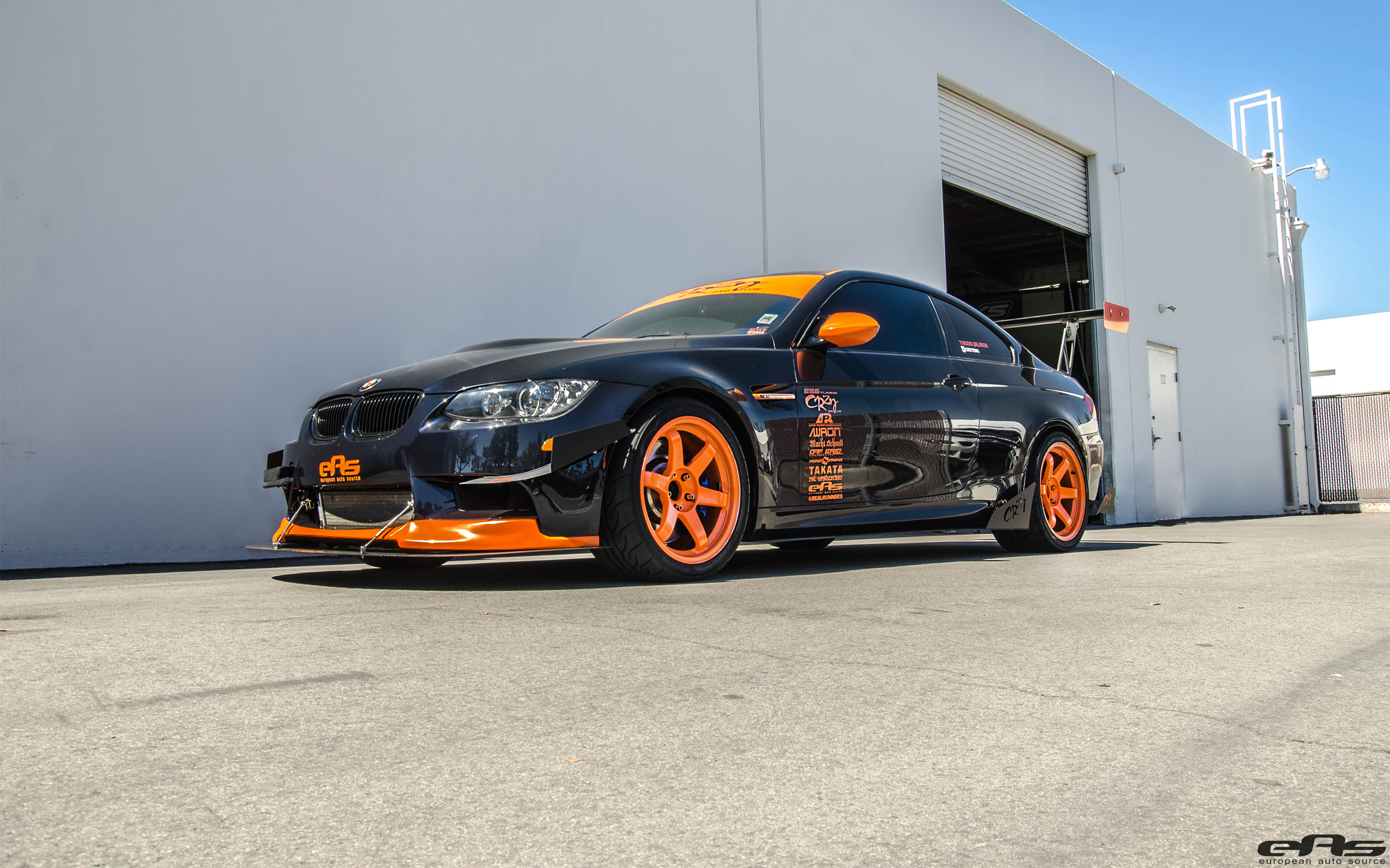 BMW E92 M3 Gets Ready For The Track 1