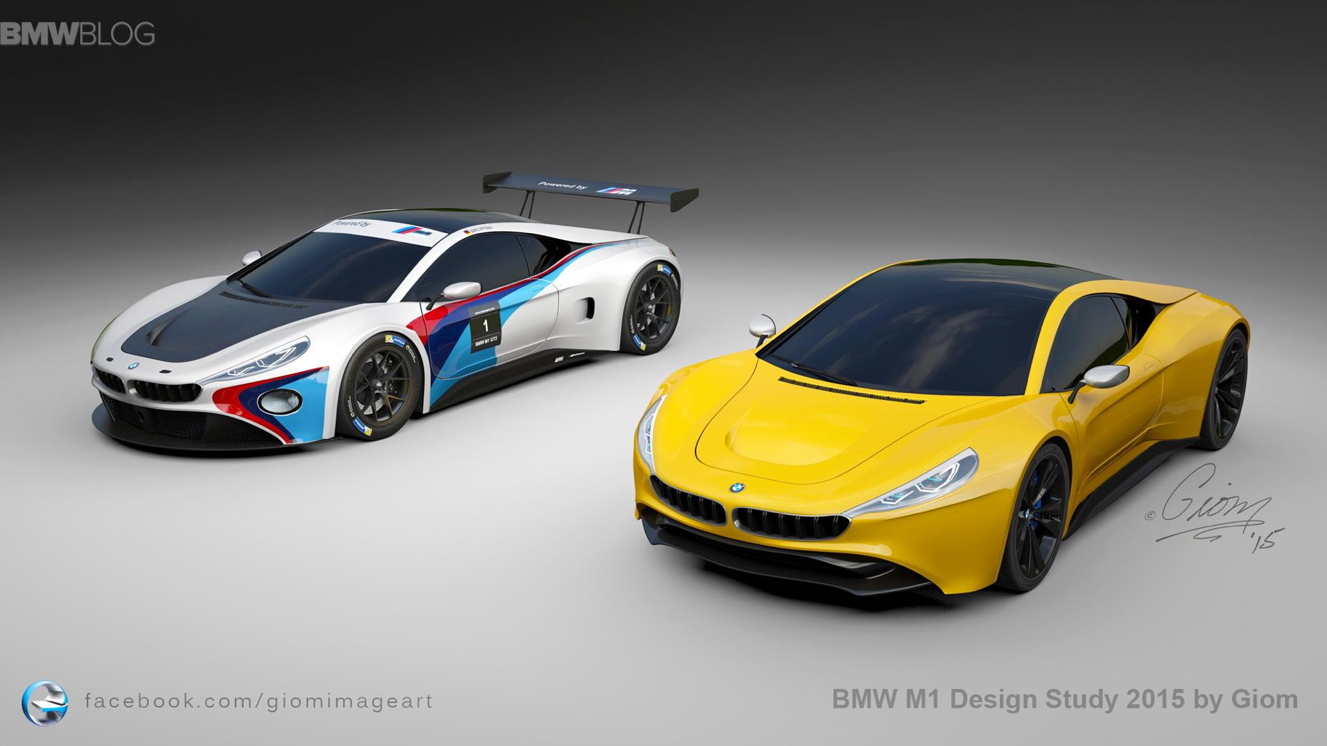 BMW M1 Design Study 10