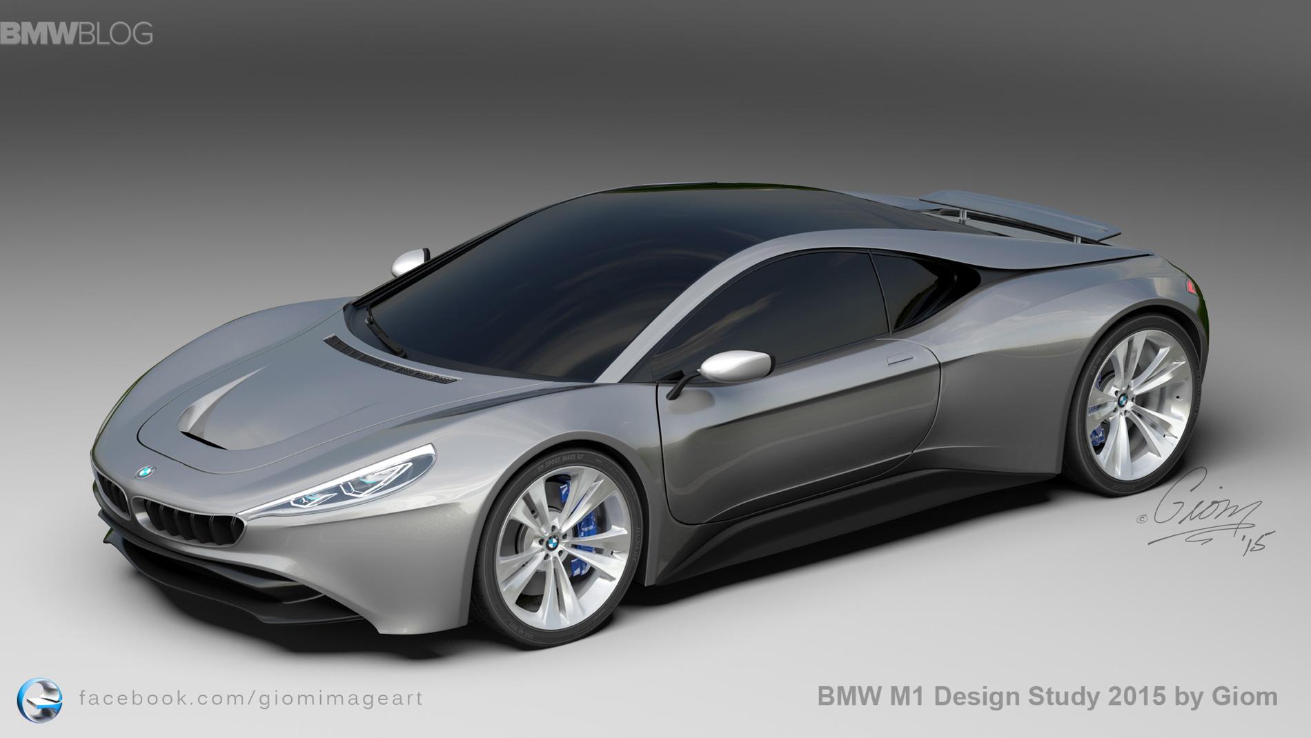 BMW M1 Design Study 2