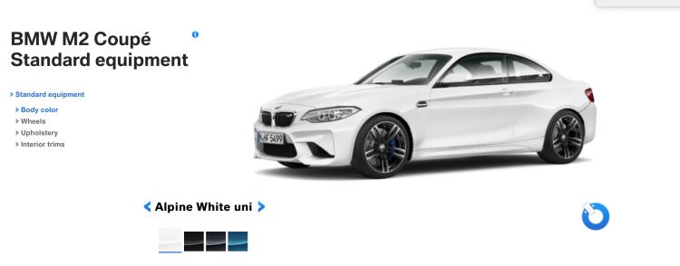 BMW M2 Alpine White 750x294