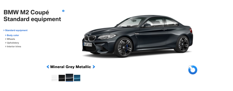 BMW M2 Mineral Grey 750x293