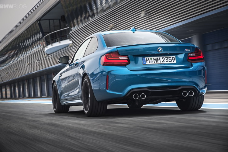 BMW M2 Nurburgring Time: 7:58 minutes, 7 seconds faster ...