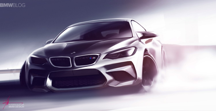 BMW M2 sketches 02 750x388