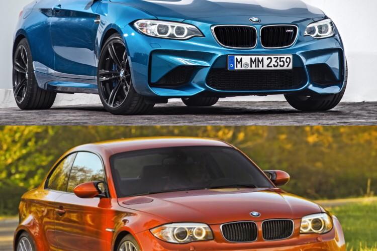 BMW M2 vs BMW 1M comparison 02 750x500